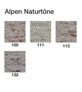 Teppichmuster Alpen
